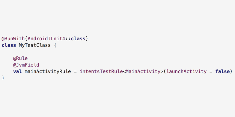 Simplifying Android Espresso Test Rules With Reified Type Parameters